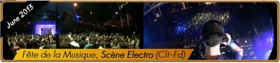 Fête de la musique 2013 clermont-ferrand scene electro gabe