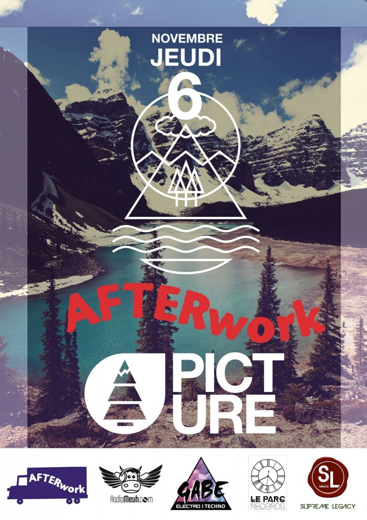 Affiche Afterwork Picture 2014